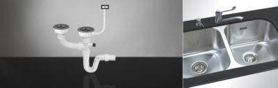 sifon za sudoperu dvodelni