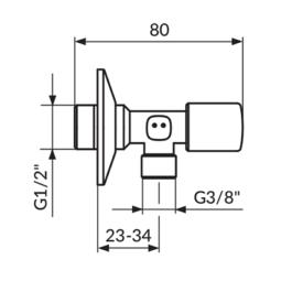 EK ventil Rosan A611238